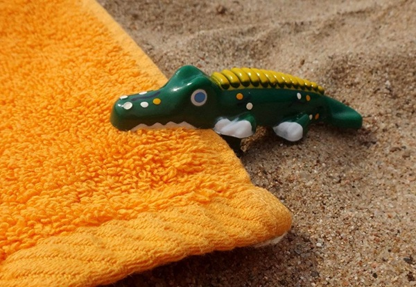 Beach Towel Anchor Stakes – keep your towel exactly where you put it this summer