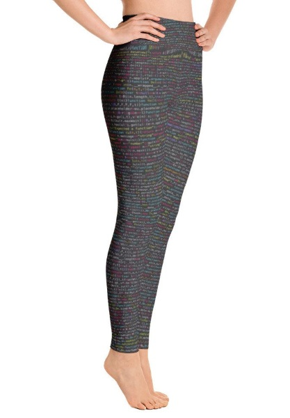 JavaScript Yoga Pants – at your mat or keyboard, the pants are perfect or both