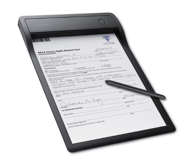 Wacom Clipboard – upgrade filling out forms