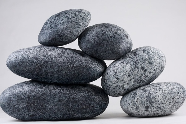 Artificial Living Stone Pillows – great movie props or just a place to lay your head