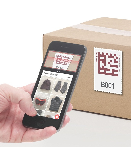 Quick Peek Smart Storage Labels – organize while you pack