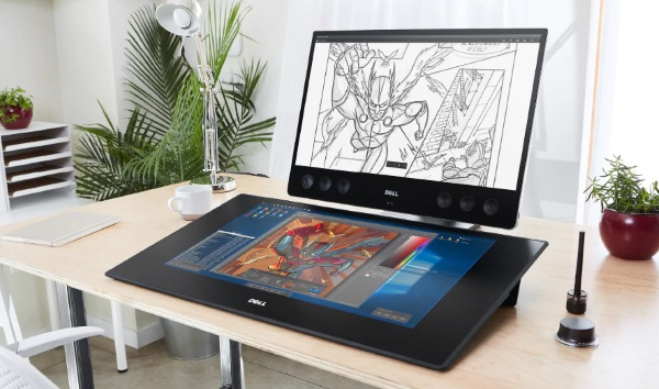 Dell Canvas 27 – draw all your dreams with this awesome workspace