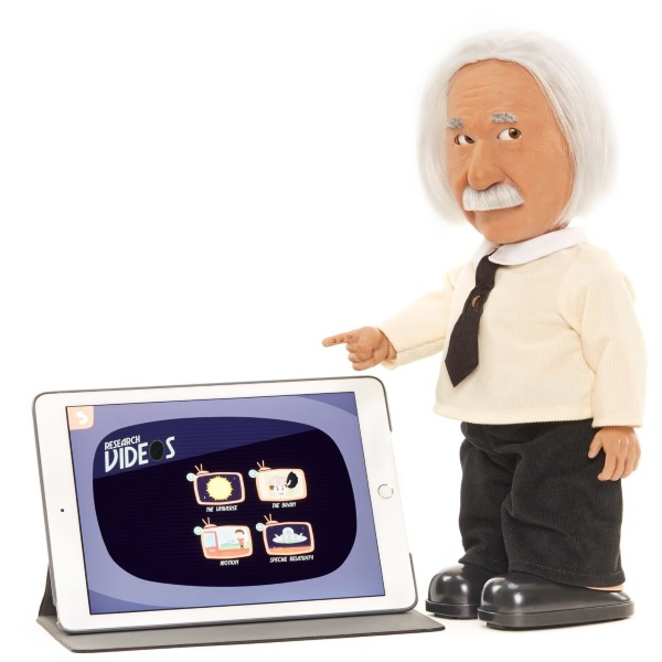 Professor Einstein Robot – match wits with the greatest mind of the 20th century, sort of