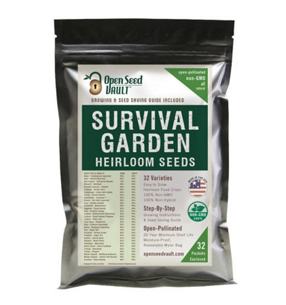 Survival Garden Heirloom Seeds – make sure you always have food by growing your own