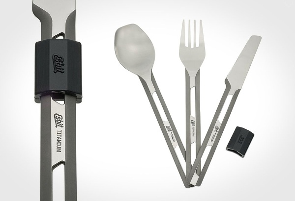 Titanium Utensil Set – your on the go option for cutlery