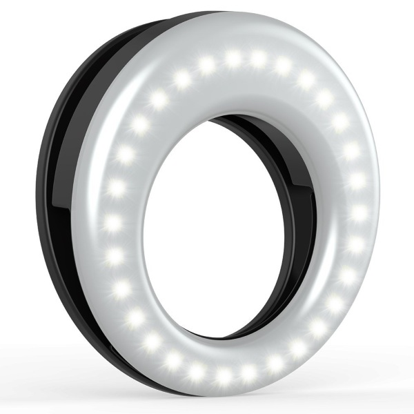 Clip On Ring Light – get better selfies with this simple light