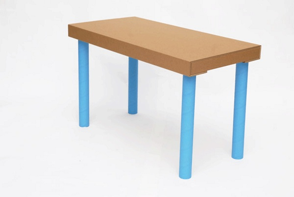 Move-It – these cardboard tables are great for emergencies