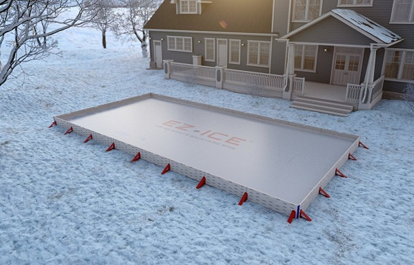 EZ-Ice – build your own backyard ice rink