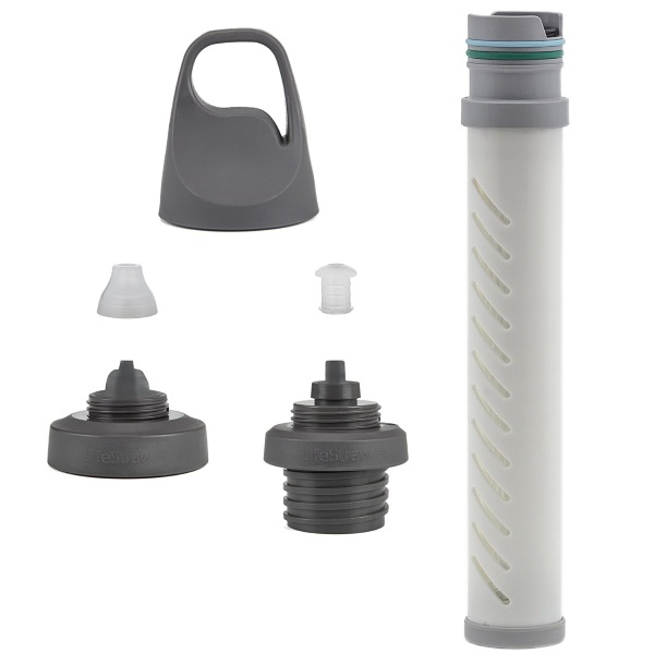 Water Filter Bottle Adapter Kit – turn your basic bottle into a filter system