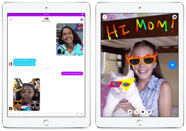 Messenger Kids – keep track of who your kids talk to
