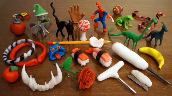 Plastimake – no 3D printer? No problem
