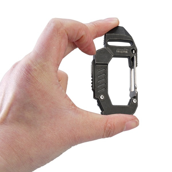 Carabiner Flashlight – keep a light handy with this