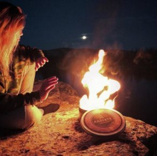 Radiate Portable Campfire – it's a campfire, in a can