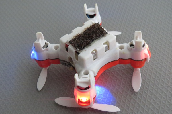 Robobees – these hairy drones can pollinate flowers