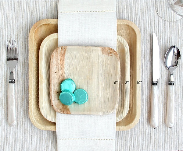 Palm Leaf Plates – the green option to disposable tableware