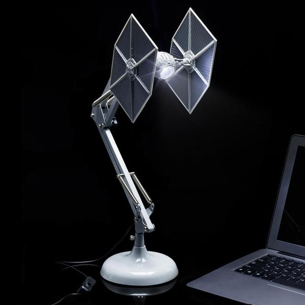 TIE Fighter Anglepoise Desk Lamp – keep the darkness but the Dark Side at bay