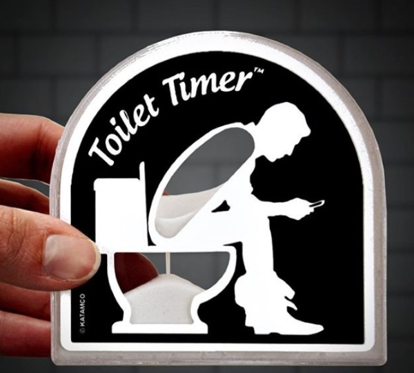 Toilet Timer – don't waste your life in the bathroom