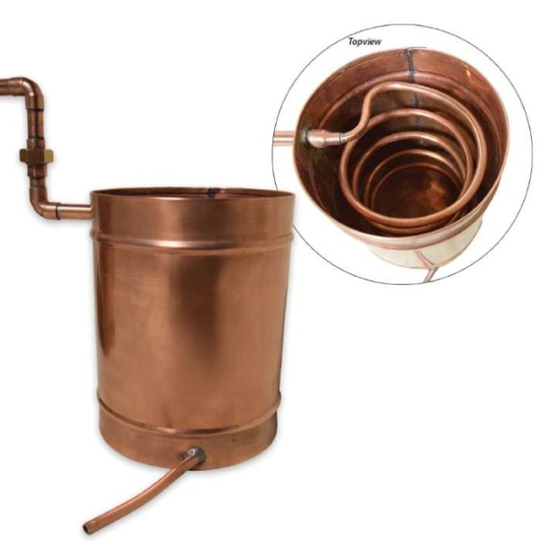 6 Gallon Copper Moonshine Still – make your own fuel with this