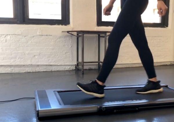 Treadly – this super slim treadmill can store anywhere