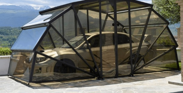 GazeBox – it's not a greenhouse, it's a garage!
