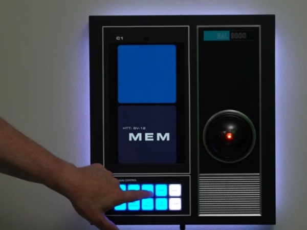 HAL 9000 Replica – give your home a touch of space
