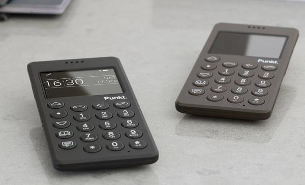 Punkt MP01 – the most attractive of dumb phones