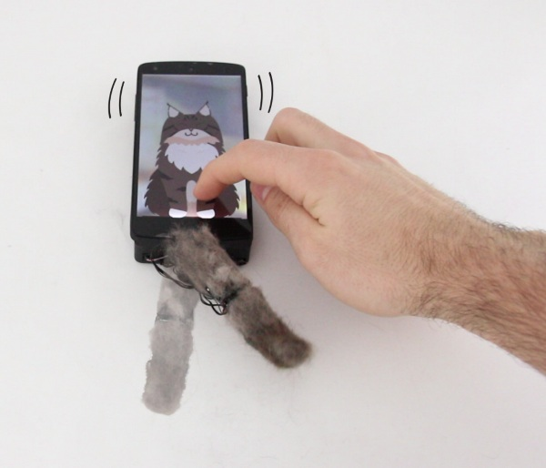 MobiLimb – attach a finger to your smartphone