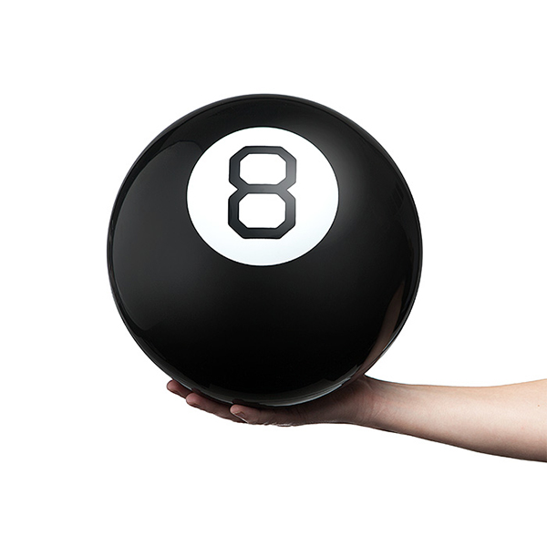 ThinkGeek 8Ball – This Giant Ball Predicts The Future!