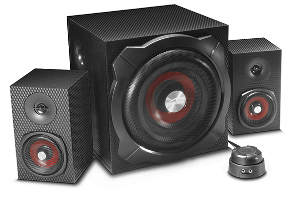 Gravity Carbon Speakers – The BASS MONSTER!