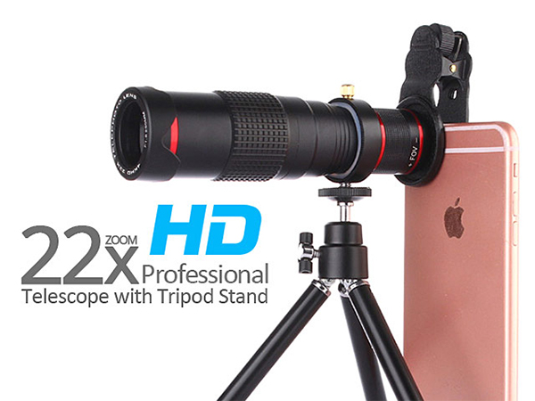 The BIG 22X Zoom Lens for Your Smartphone!