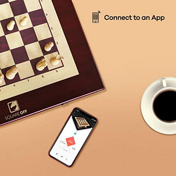Square Off Chess Set – play the classic game with anyone around the world