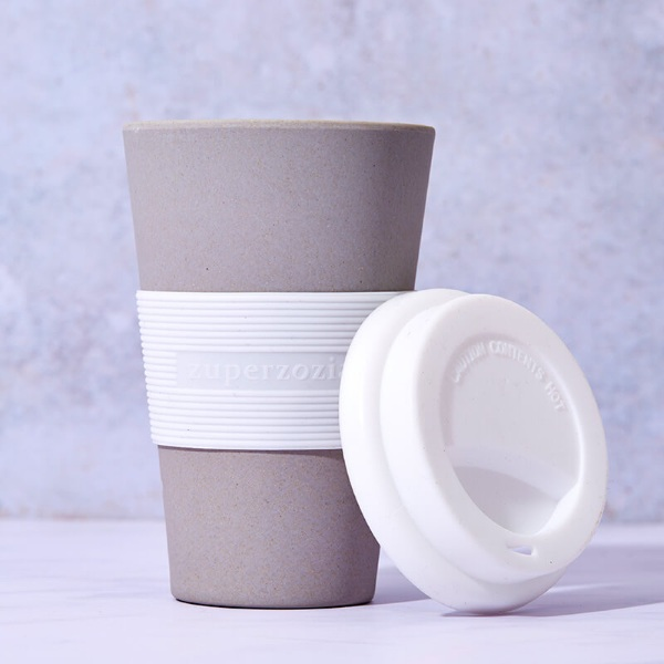 Bamboo Cruising Travel Mug – this reusable cup is biodegradable