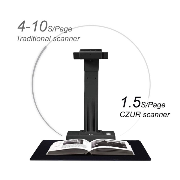 CZUR Book and Document Scanner – turn the physical into digital
