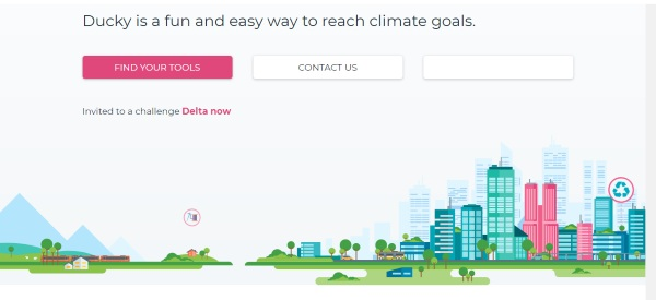 Ducky – turn cutting down on emissions into a game