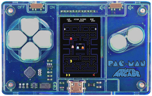 SuperImpulse's MicroArcade – an arcade cabinet game in a credit card