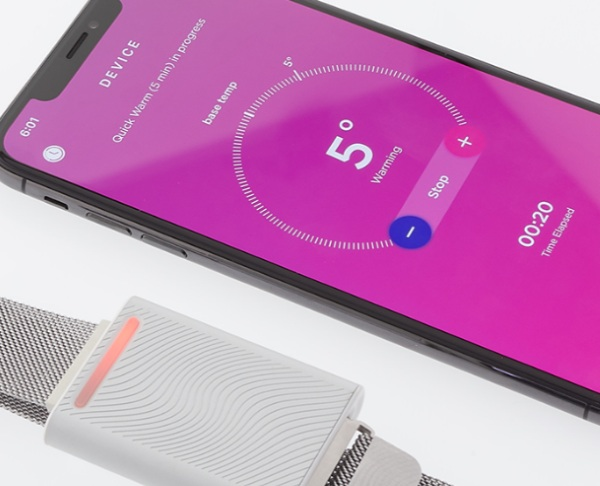 Embr Wave Bracelet – control your own temp with this handy device