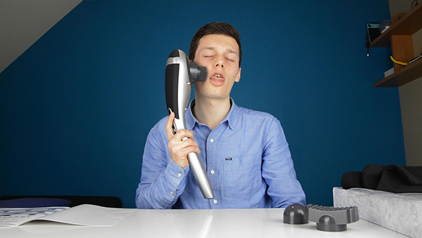 The Juvenik Massager Performs Better than it Looks