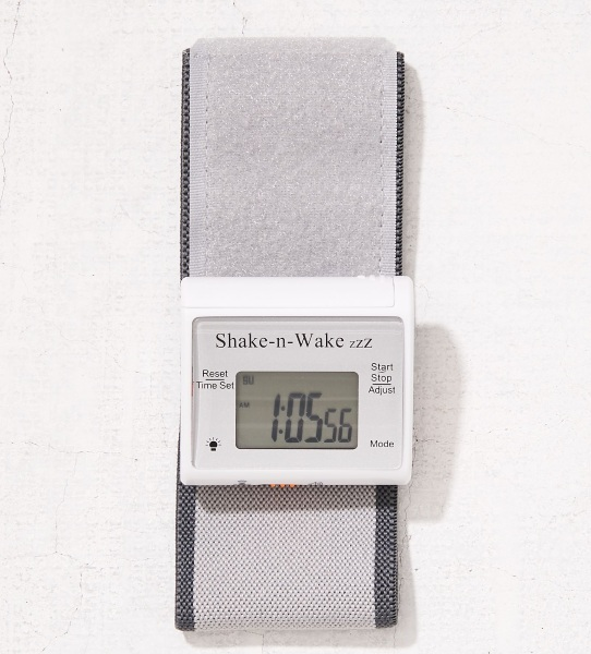 Shake-N-Wake – the alarm clock you wear