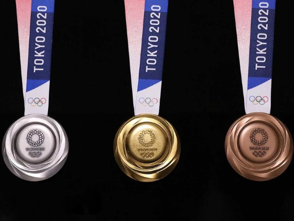 Tokyo Olympic Medals – made from recycled e-waste