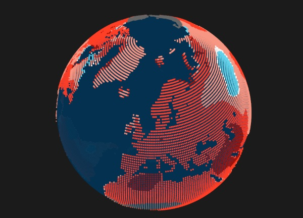 How Much Warmer? – check out this interactive map to see how much hotter it's going to get