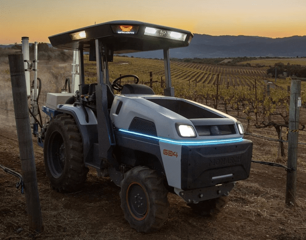 Monarch Electric Tractor – new driverless $50K smart tractor could be a game changer for small farms