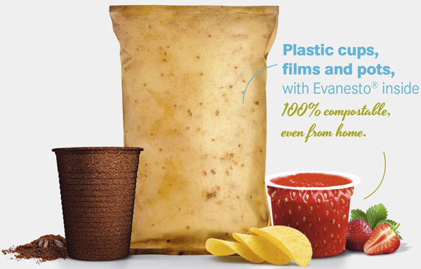 Evanesto – from plastic pots to compost lots