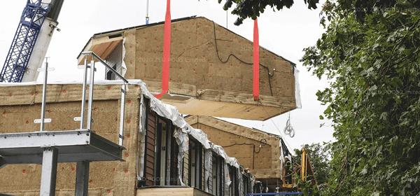 ZedPods – modular pre built homes designed to be installed above car parks