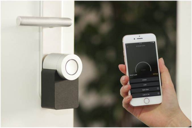 New Smart Door Lock Tech