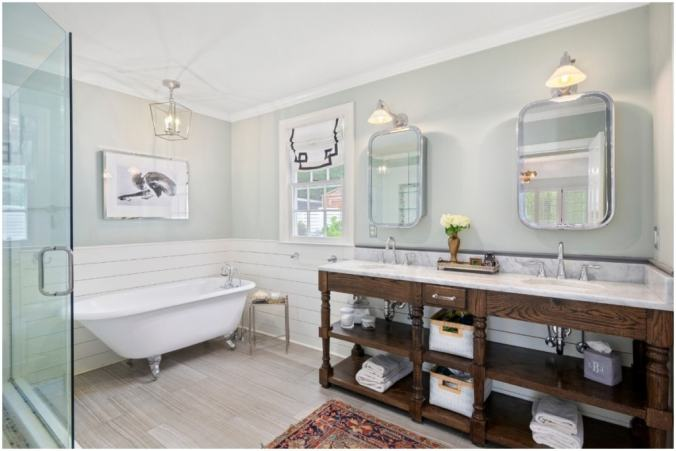 simple home improvements bathroom