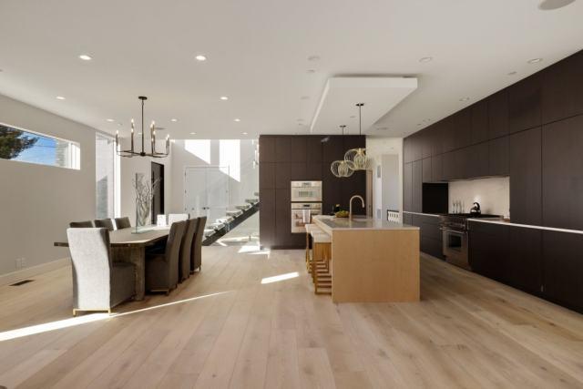 open concept new kitchen