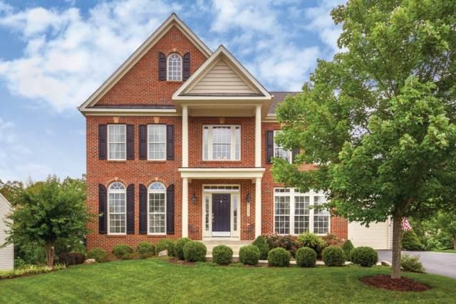 beautiful red brick home