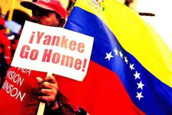 Down with the imperialist coup in Venezuela!