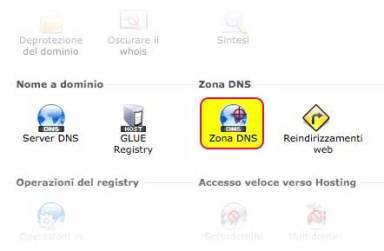 OVH - Zona DNS