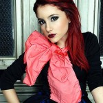Ariana Grande red hairstyle